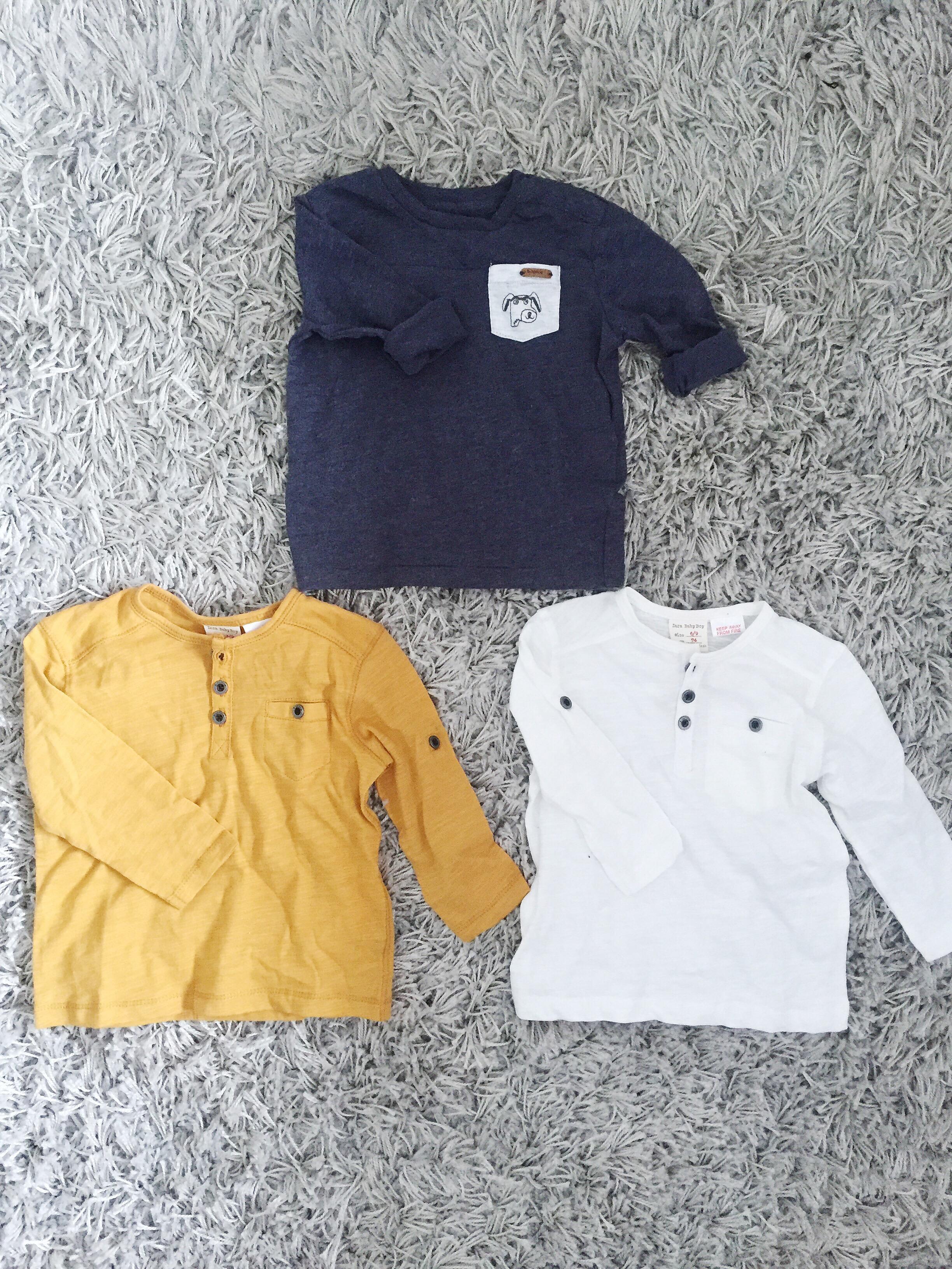 0298970f3b9a Vi började med dessa tunna sköna tröjor från Zara. 49 kr styck hörrni! Va?  De är så så fina, och de två understa kan man ha långärmat eller göra dem  ...